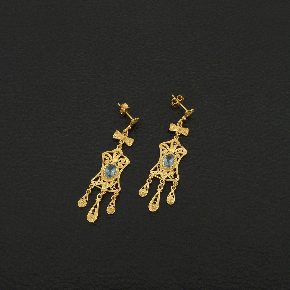 Traditional earrings 925 sterling silver